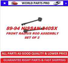 Front Control Arm RADIUS ROD ASSEMBLY NISSAN240SX 89-94(FITS 240SX 89-94) SET  2