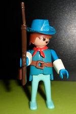 PLAYMOBIL - Vintage cowboy, cavalier rider chevalier Ritter figure (J214)