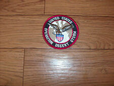 "U.S MILITARY OPERATION DESERT STORM PATCH SIZE 3"" X 3"" GOOD QUALITY PATCH"