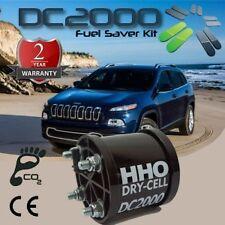 HHO Kit COMPLETO Idrogeno DC2000, cella acciaio 316L, fino a 2400cc