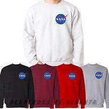 NASA SPACE ASTRONAUT GEEK NERD STAR LOGO LADIES MEN GIFT SWEATSHIRT JUMPER CHEST