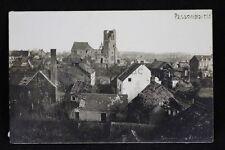 alte Foto AK Flandern Passchendalle Belgien zerstörungen