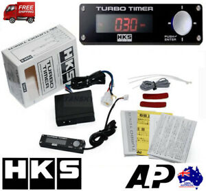 HKS TURBO TIMER TYPE 0 RED FITS WRX EVO SKYLINE S15 4X4 HILUX LANDCRUISER NAVARA