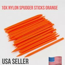10 ESD-Safe Orange Stick Spudger Logic Board Pry Tool-Macbook Pro/Air Cell Phone
