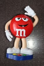 "M&M'S RED LIMITED EDITION STAND UP 10"" CANDY DISPENSER COLLECTIBLE"