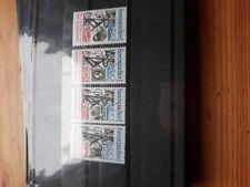 timbre luxembourg **(th) lot 73   neufs   n1041/4   fonction publique