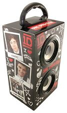 6W Portable Speaker For Laptop/MP3/Phone iPod Rechargeable Speaker One Direction