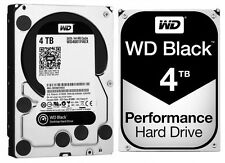 Western Digital 4TB BLACK Performance Hard Drive WD 6 Gbs 64mb WD4001FAEX Gen 1