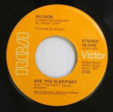 Rock 45 Nilsson - Are You Sleeping? / Me And My Arrow On Rca