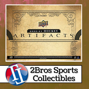2020-21 UD Artifacts Hobby Master Case 20 Box Break 1/22 7pm CST Lightning