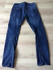 LEVI'S TWISTED / ENGINEERED JEANS CINCH BACK SIZE 32 X 34 LINEN BLEND VGC