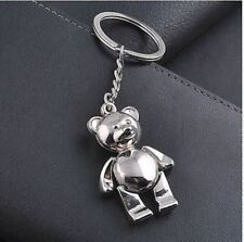 ring Keychain creative Keychain Gift Bear Fashion metal key chain