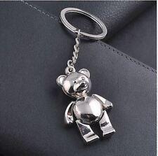 Bear Fashion metal key chain ring Keychain creative Keychain Gift