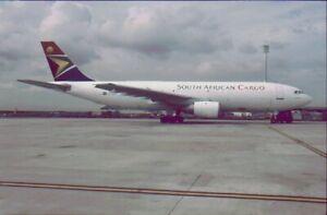 Aircraft Slide : South African Cargo  A300  ,  ZS=SDG