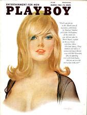 Playboy march 1965 USA Jennifer Jackson Carol Lynley