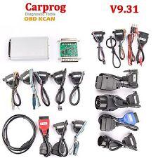 CARPROG v9.31 airbag auto RESETTER, KM correzione, diagnosi, dispositivo diagnostico,