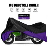 XXL 180T Black+Red Motorcycle Cover For Harley Davidson Softail Custom FXSTC