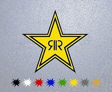STICKER PEGATINA DECAL VINYL AUTOCOLLANT AUFKLEBER Rockstar Star