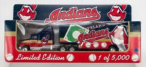 1996 Matchbox MLB Team Collectible Kenworth Aerodyne / Cleveland Indians 1 of 5K