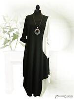 PoCo DeSiGn° LAGENLOOK Long Kleid Shabby weiß Ballonkleid 42-58 L XL XXL XXXL