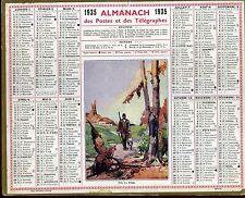 ALMANACH des Postes et des telegraphes 1935