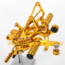 For Yamaha YZF R6 2006-2016 CNC Rear Sets Foot Pegs 2007 2008 2009 2010 2012