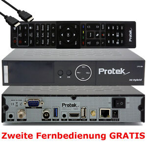 ➨ Protek X2 4K UHD 2160p OpenATV E2 Linux HDTV COMBO Receiver WLAN ⭐⭐⭐⭐⭐ ✅