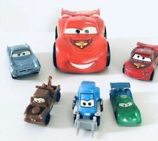 Disney Pixar Cars 2 Lightning Mcqueen Shake And Go Plus 5 Mix Lot Cars Toys Used