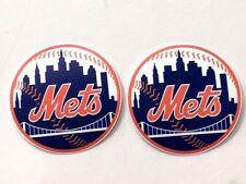 2x New York Mets Car Window Laptop iPhone Macbook Vinyl Die Cut Sticker Decal