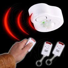 Infrarot Deckenalarm mit 2 Fernbedienungen Sensor Bewegungsmelder Hausalarm Haus