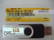 Microsoft Office 2010 Professional Licensed for 2 PCs Full English MS Pro.=NEW=