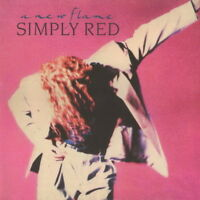 """Simply Red A New Flame (It`s Only Love) 1989 Warner Elektra 12"""" LP"""