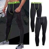 Men Compression Pants Base Layer Skin Tights Running YOGA Workout Gym Sports NCS