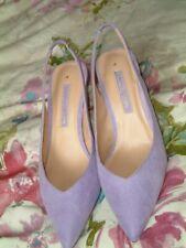 NEW Dorothy Perkins Lilac Suede Stilettos. Size UK 4. EUR 37. 3 Inch Heels.