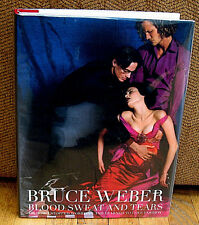SIGNED Bruce Weber Blood Sweat and Tears Fashion Photography Vogue Versace HC DJ