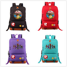 Game Roblox Women canvas Backpack large School Bag Laptop Satchel Bag Travel Bag