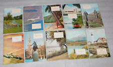 American Geographical Society Lot of 10 Vacation Travel Booklets 1969 PB
