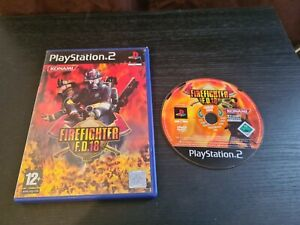 FireFighter FD 18 PS2 (PlayStation 2) Boxed. GC. Free P+P. FAST DISPATCH.
