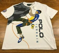 Ralph Lauren Polo Country Terrain Climber T Shirt Men's L Large NWT New