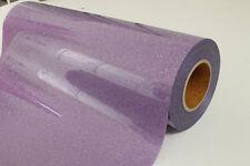 Free Ship 2yards 1969inch Purple Glitter Heat Press Transfer Vinyl T Shirts Art