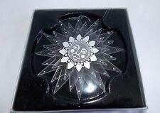 """1984 Stephanie Siegel Sun Star Christmas Ornament 4.5"""" diameter Plastic Acrylic"""