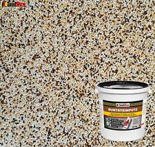 Buntsteinputz Mosaikputz BP 50 (weiss, gelb, braun, schwarz) 20 kg Qualität