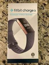 Fitbit Charge 3 Activity Fitness Tracker - Blue Gray/ Rose Gold