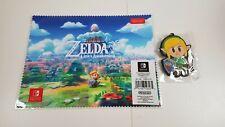 keychain + screencleaning cloth Zelda Link's Awakening nintendo switch goodies