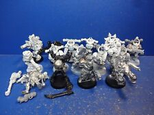2+1 Havocs + 5+3 Chaos Marines + Standarte + Scriptor + 1+1 Champions des Chaos