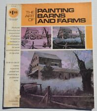 The Art of Painting Barns and Farms Uldis Klavins 1973 Grumbacher B405 Book