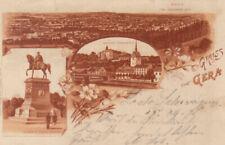 Ansichtskarten aus Thüringen mit dem Thema Burg & Schloss aus Gera