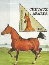 Timbre Chevaux Bénin BF34 ** lot 27048