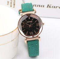 Chic Women Leather Strap Analog Quartz Ladies Wrist Watches Fashion Watch Gift
