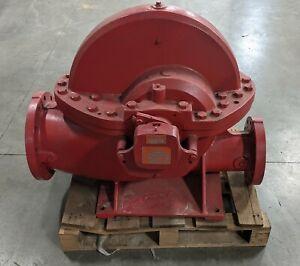 "Aurora 6"" x 10"" Type 6-491-19A S491 BF Split Case Centrifugal Fire Pump 2000GPM"